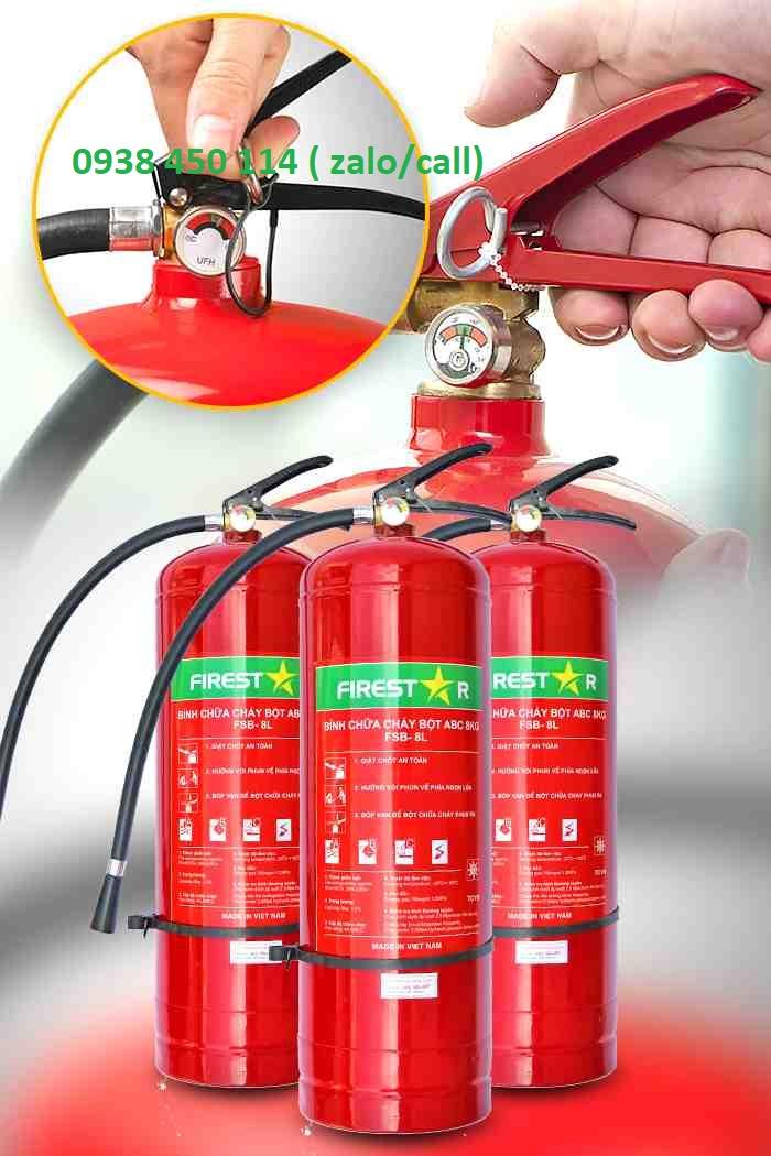 dịch vụ nạp bình chữa cháy tphcm